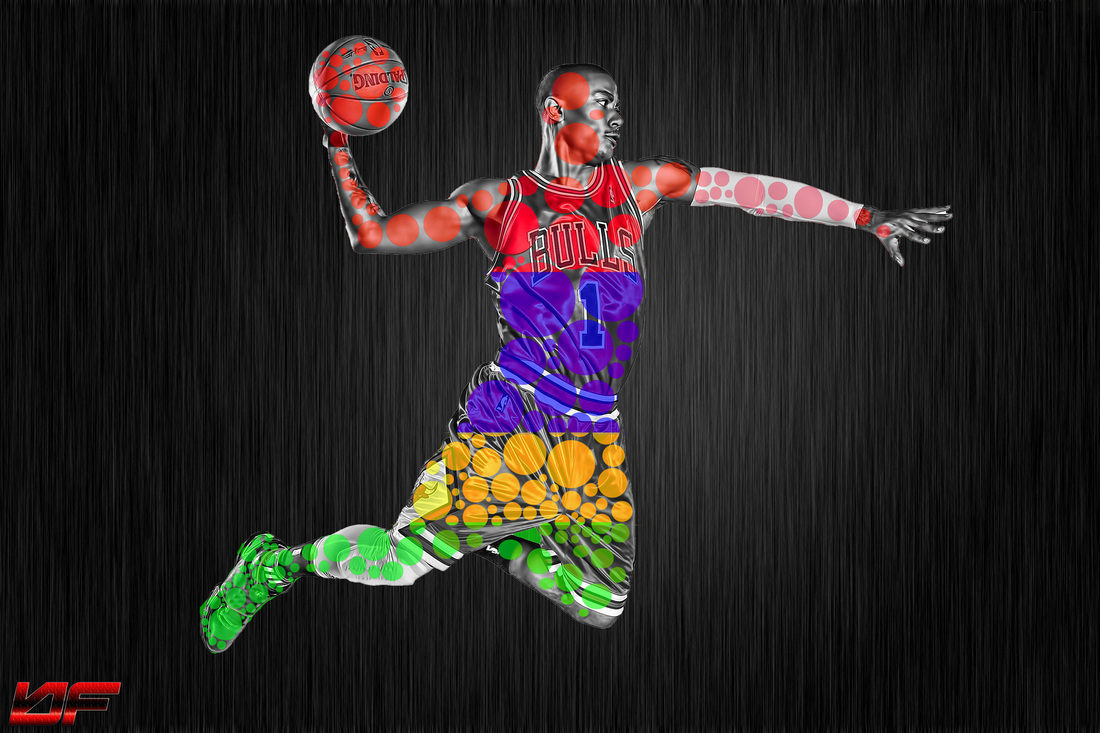 Photoshop sports designs ball forever graffix edits